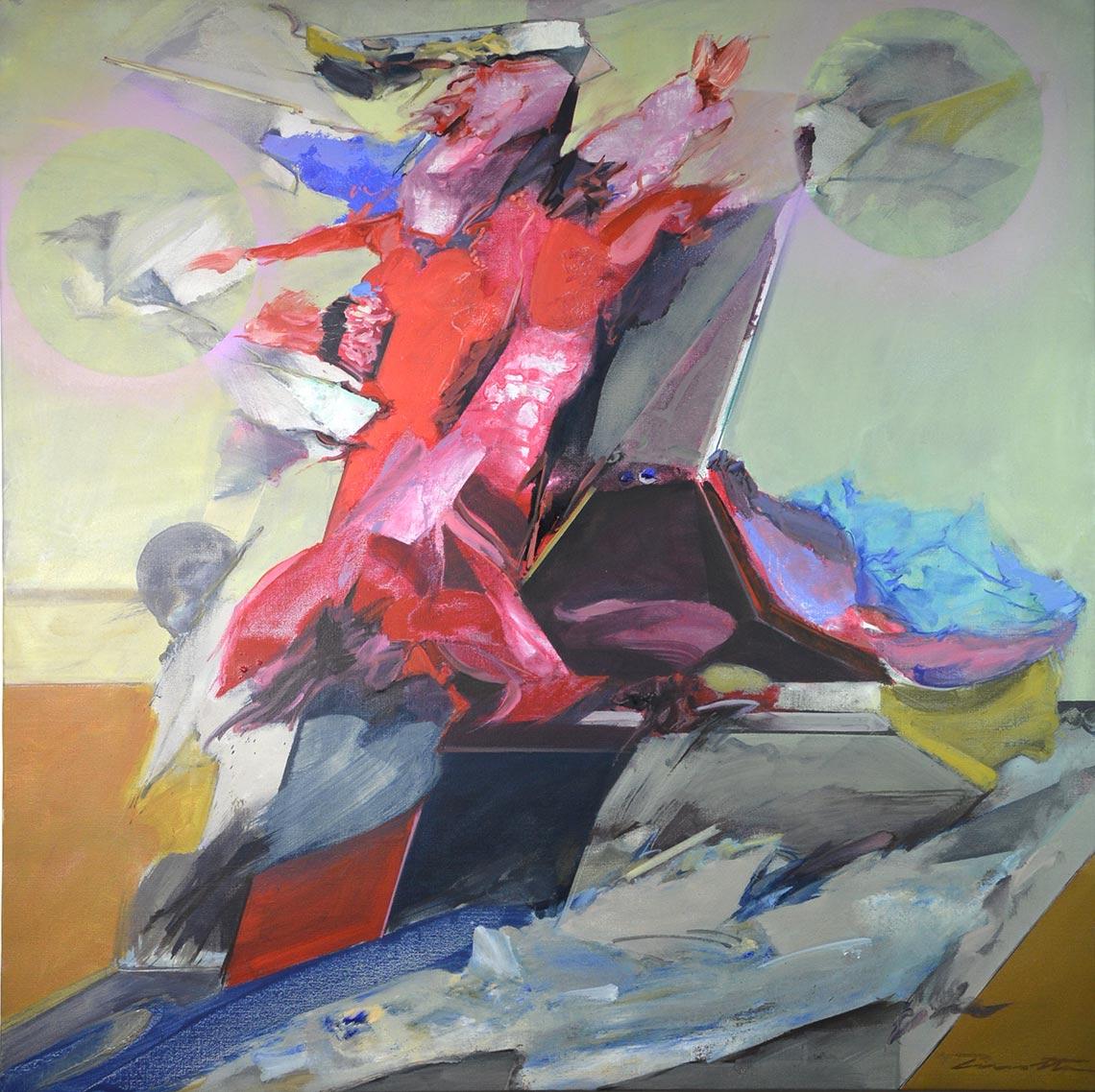 Victoire - peinture sur toil